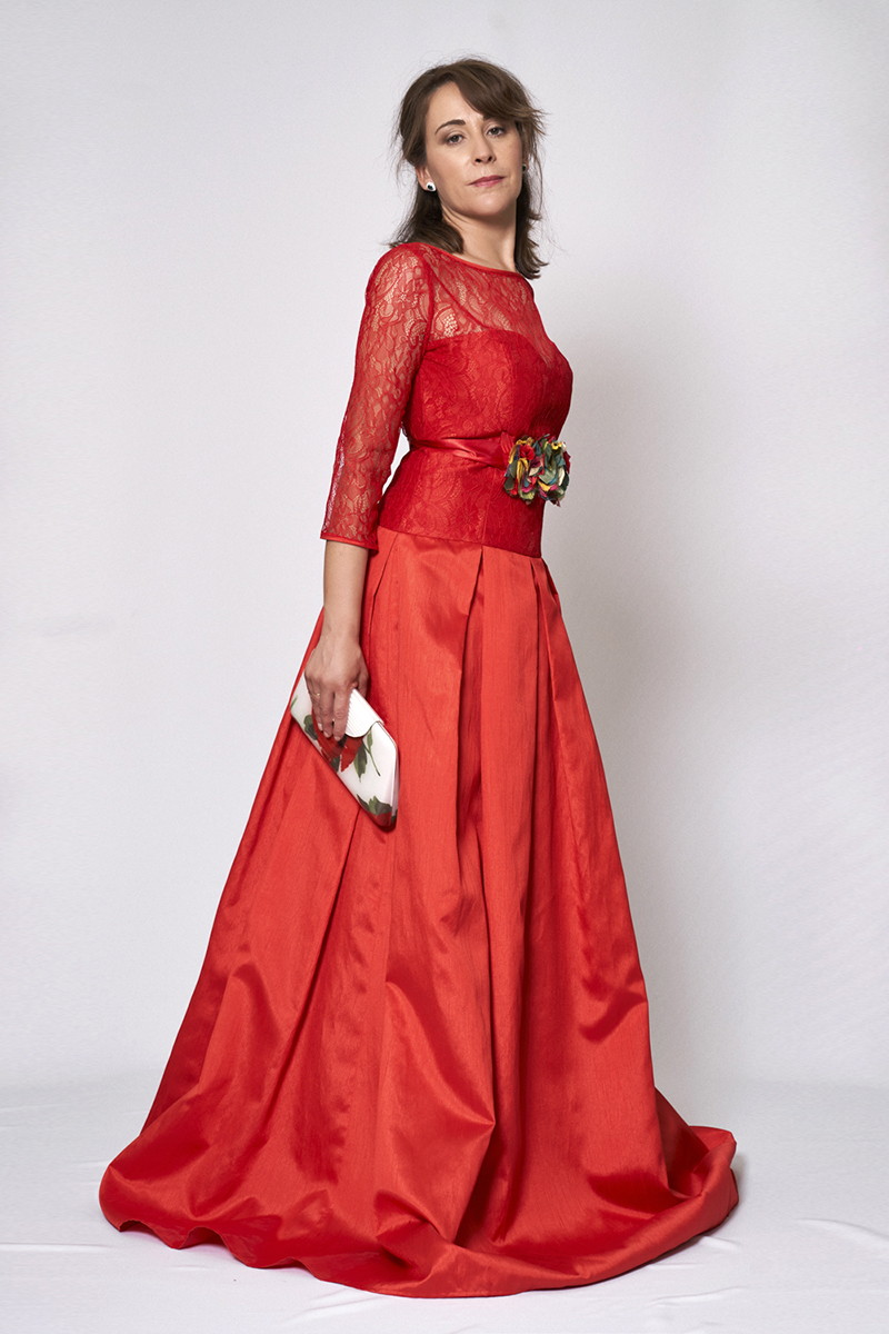 Vestido de fiesta modelo ICH03797 P