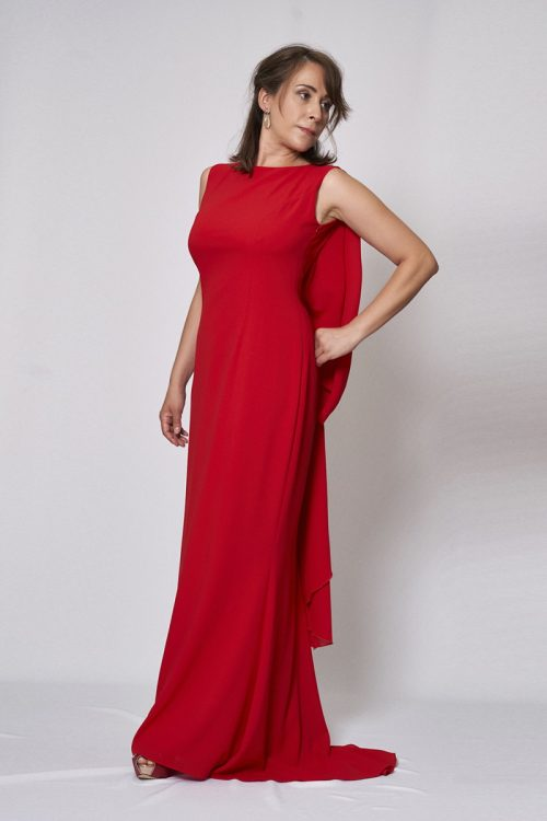 Vestido de fiesta modelo ICH04082 P
