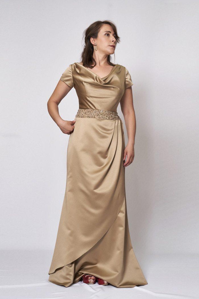 Vestido de fiesta modelo ICH04098 P