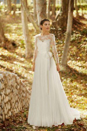 Vestido Novia Alma Novia Modelo 4B163 1 OMEYA