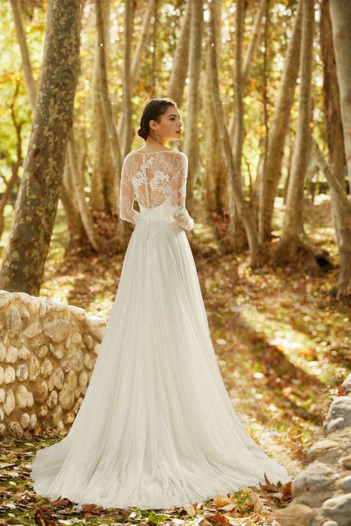 Vestido Novia Alma Novia Modelo 4B163 2 OMEYA