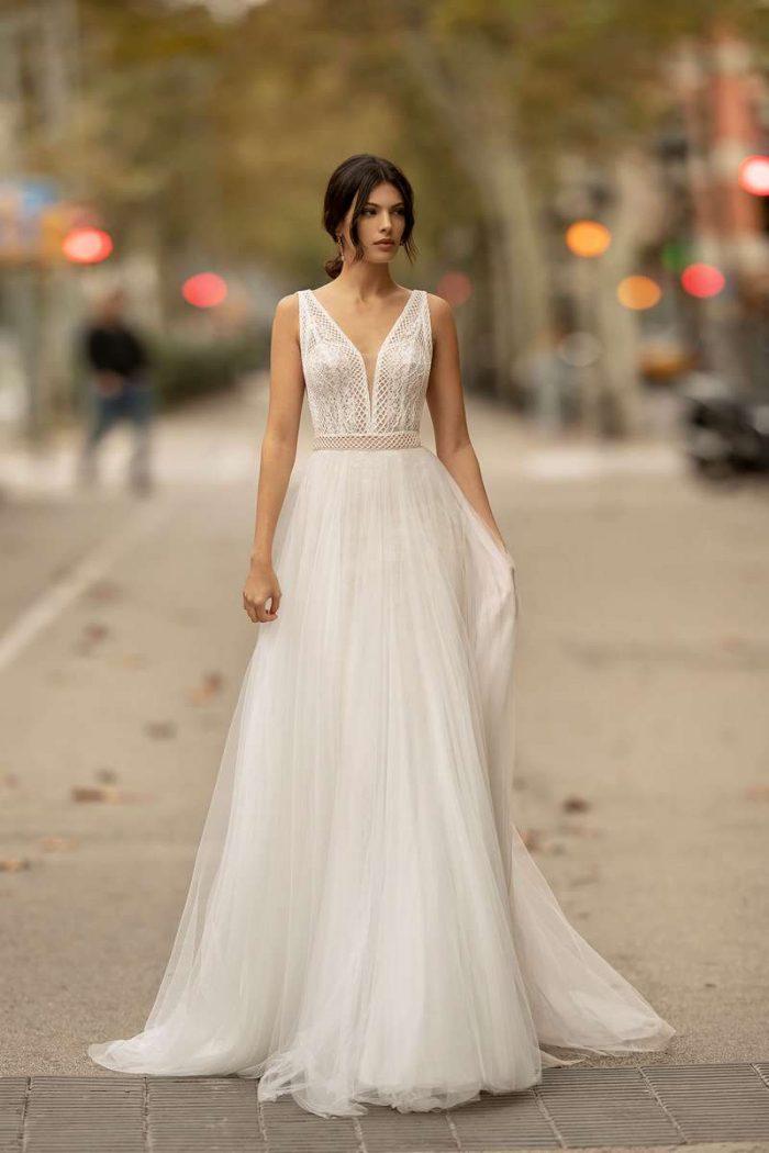 Vestido Novia Alma Novia Modelo 4B165 1 ONA
