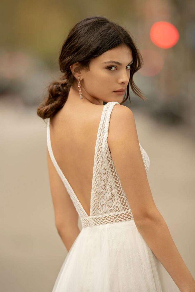 Vestido Novia Alma Novia Modelo 4B165 2 ONA