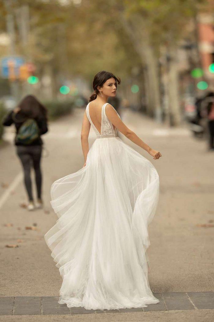 Vestido Novia Alma Novia Modelo 4B165 3 ONA