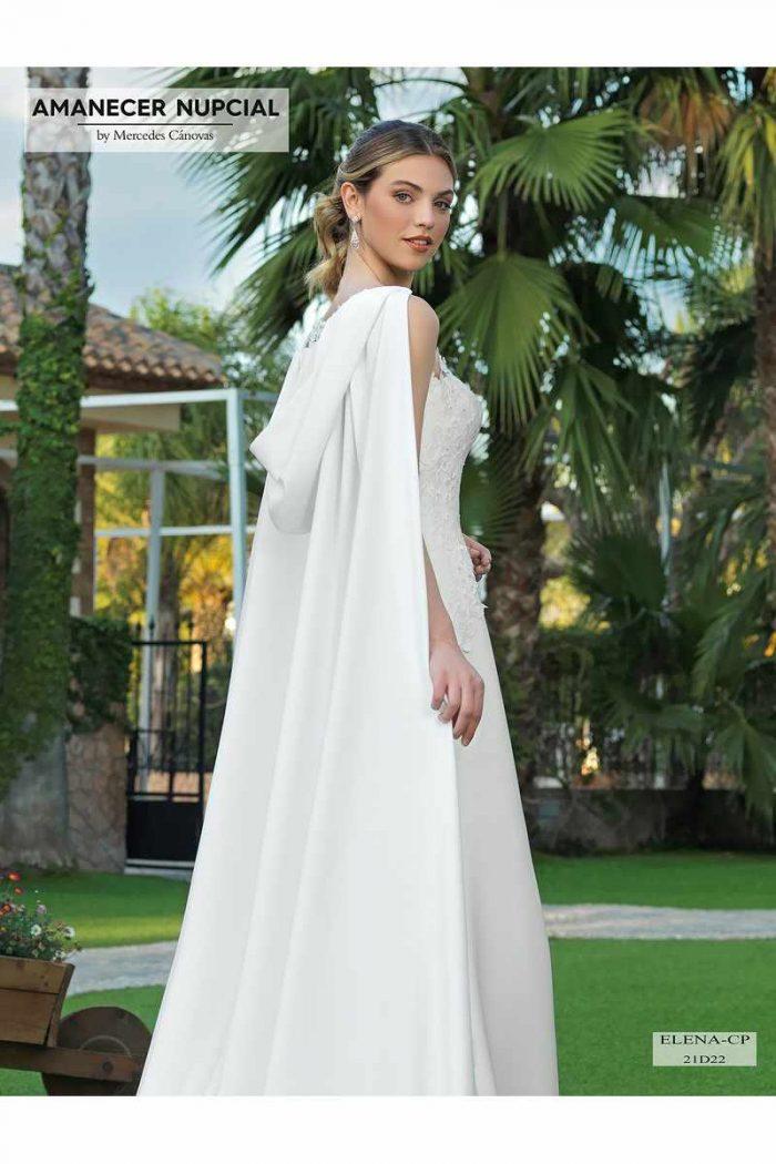 Vestido Novia Amanecer Nupcial Modelo 21D22 ELENA CP 10341 2