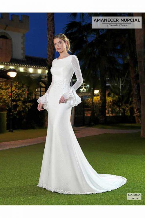Vestido Novia Amanecer Nupcial Modelo 21K34 LARISA 10416