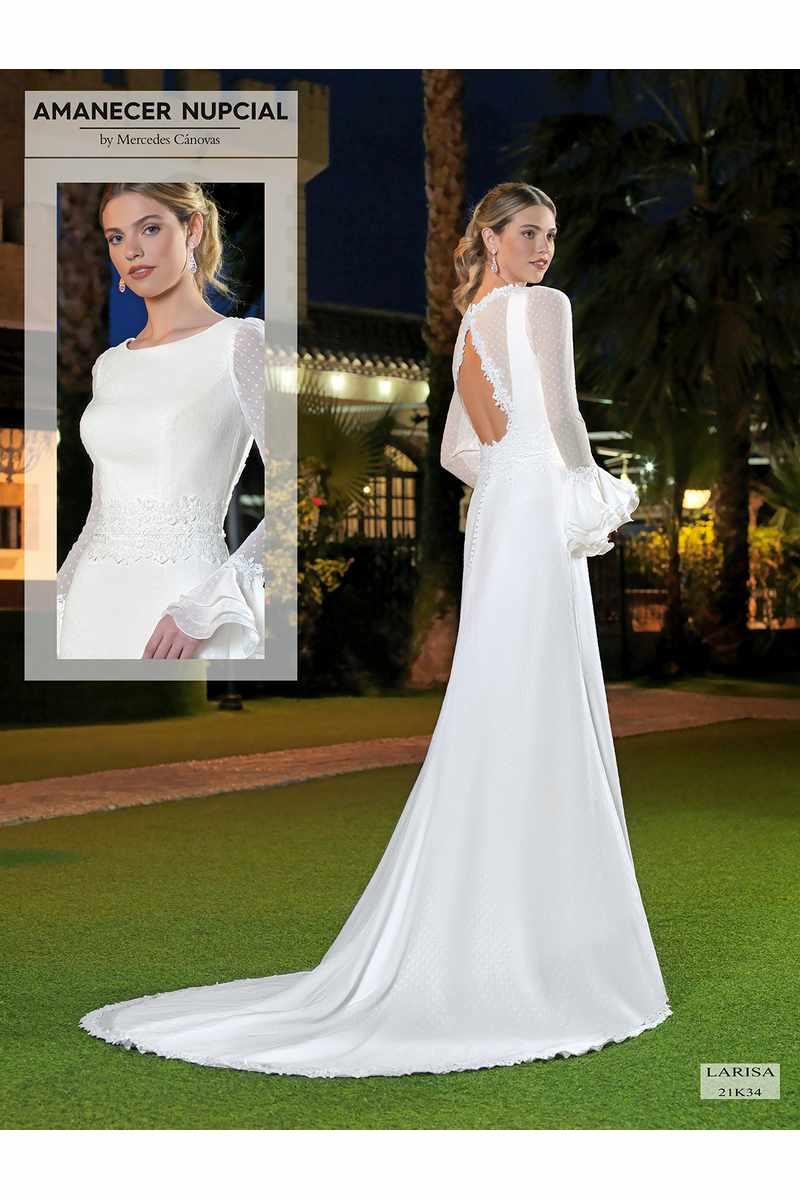 Vestido Novia Amanecer Nupcial Modelo 21K34 LARISA 10438