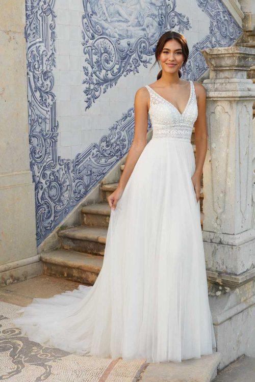 Vestido Novia Justin Alexander Modelo 44120 FF Sincerity Bridal