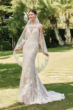 Vestido Novia Justin Alexander Modelo 44221 FF Sincerity Bridal