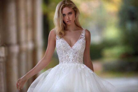 Vestido Novia Nicole Modelo NI12100 A