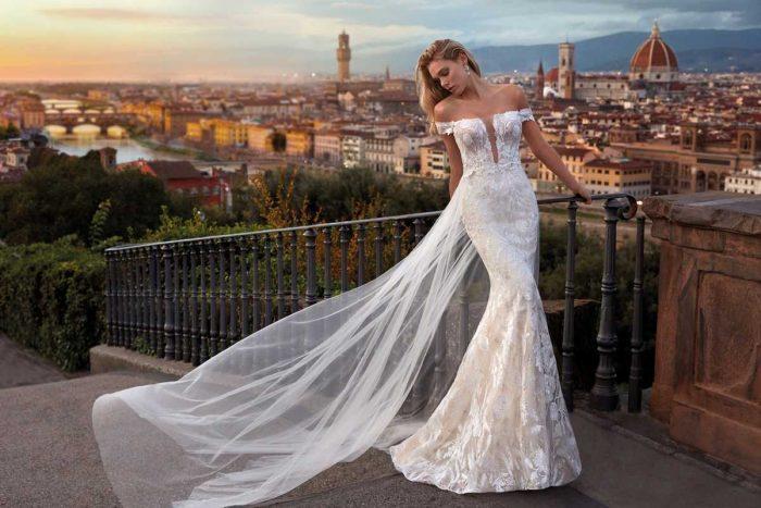 Vestido Novia Nicole Modelo NI12176 B 1
