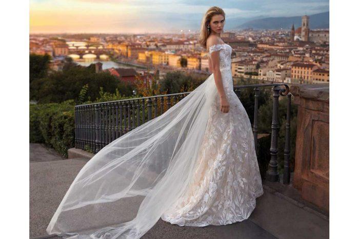 Vestido Novia Nicole Modelo NI12176 C 1