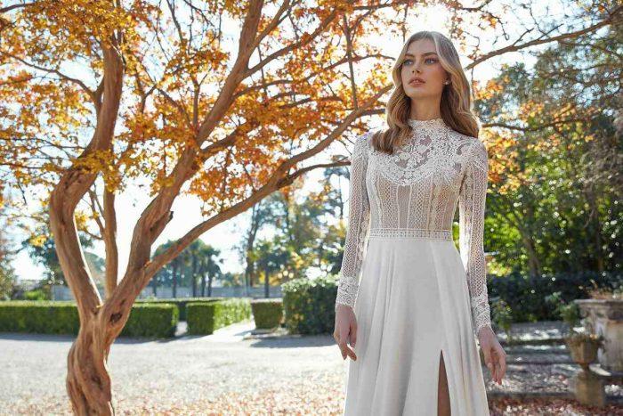 Vestido Novia San Patrick Modelo ACHROITE A