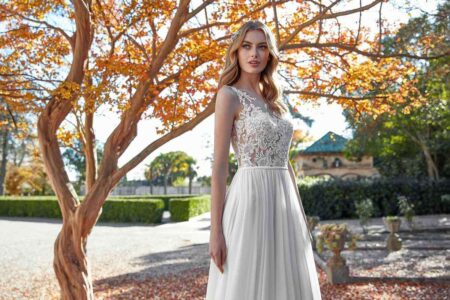 Vestido Novia San Patrick Modelo AQUAMARINE A