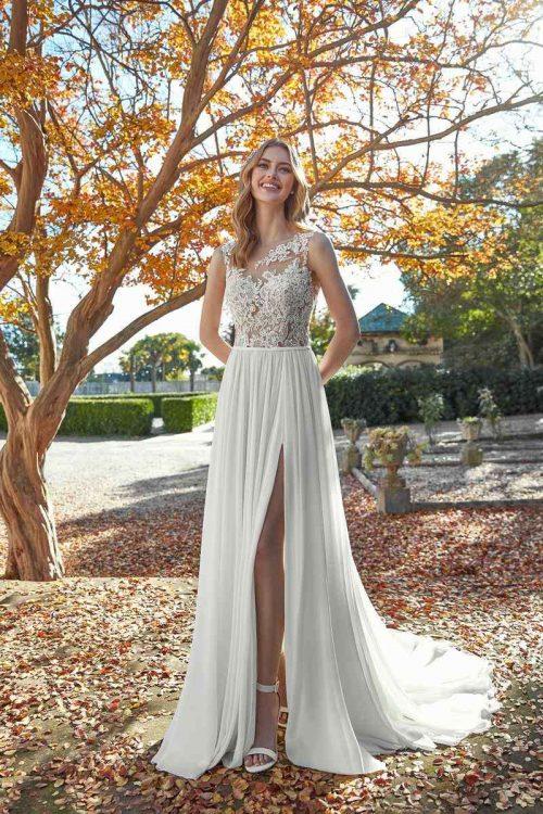 Vestido Novia San Patrick Modelo AQUAMARINE B1