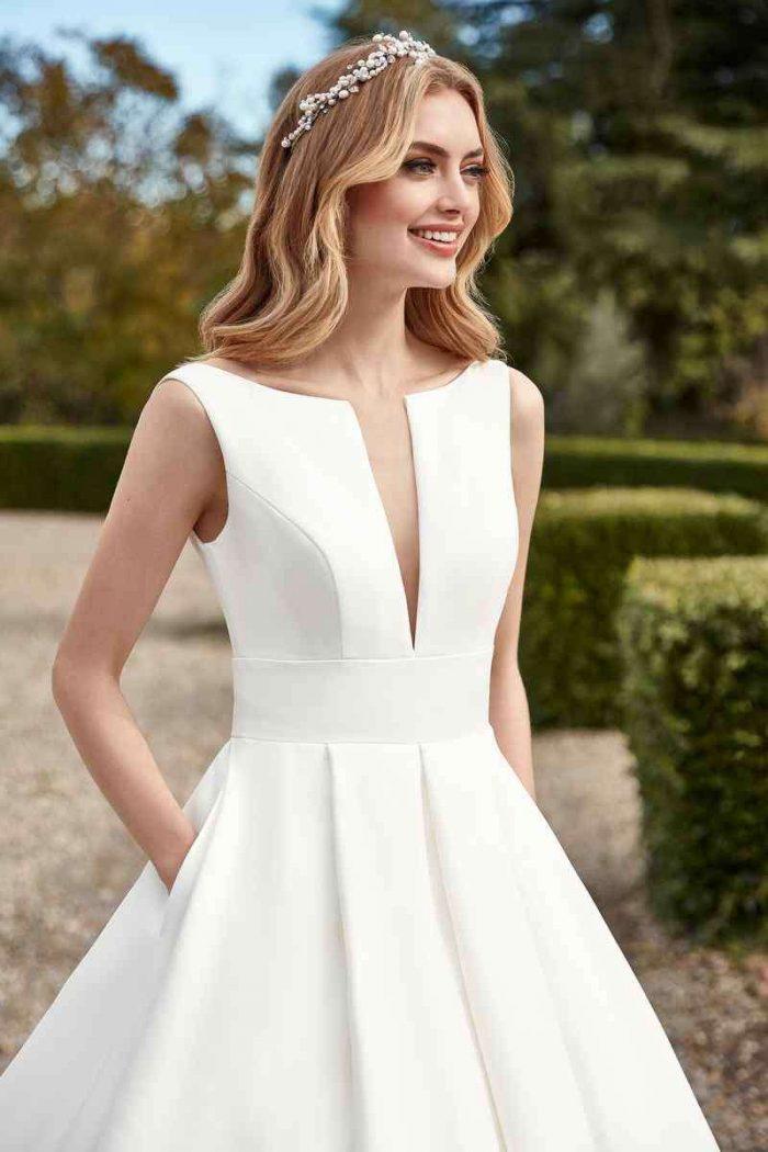 Vestido Novia San Patrick Modelo HALIOTIS D