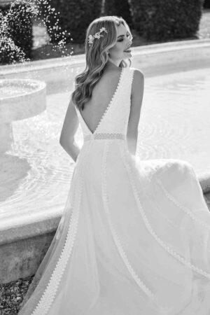 Vestido Novia San Patrick Modelo TAAFFEITE D1