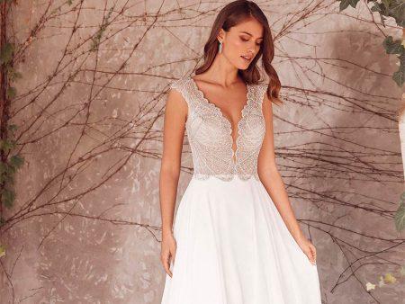 vestidos novia boda civil