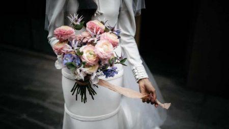 novia pandemia flores
