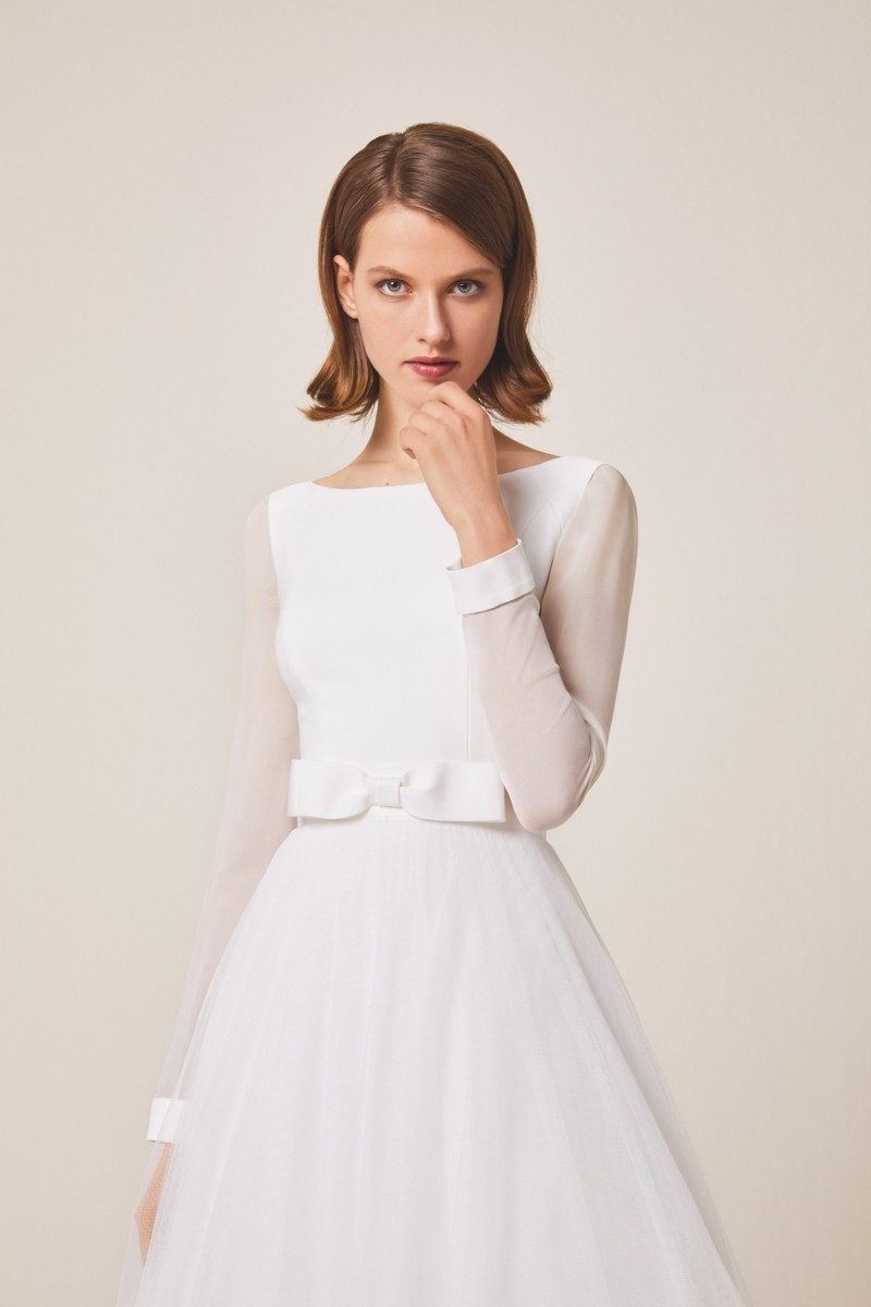 vestido de novia coleccion jesus peiro 2019 modelo 943c