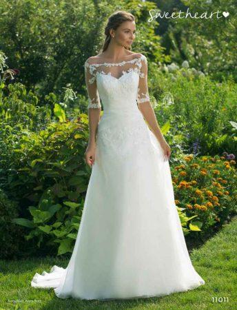 vestido de novia coleccion sweetheart by justin alexander 2019 modelo 11011 1 swh 19