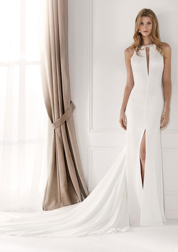 vestido novia coleccion nicole modelo nia2051 b