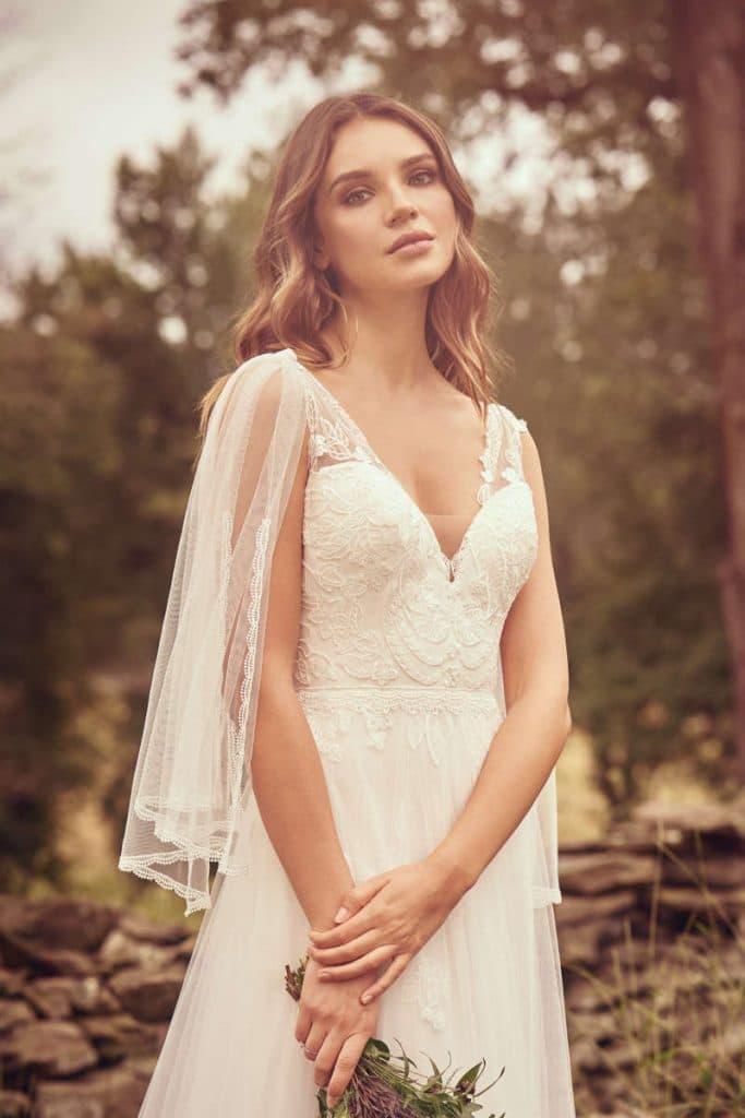 vestido novia justin alexander modelo 66065 fc
