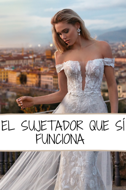 sujetador invisible novias