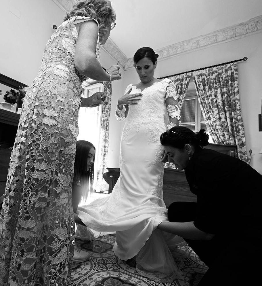 wp en boda de Silvia y Elson