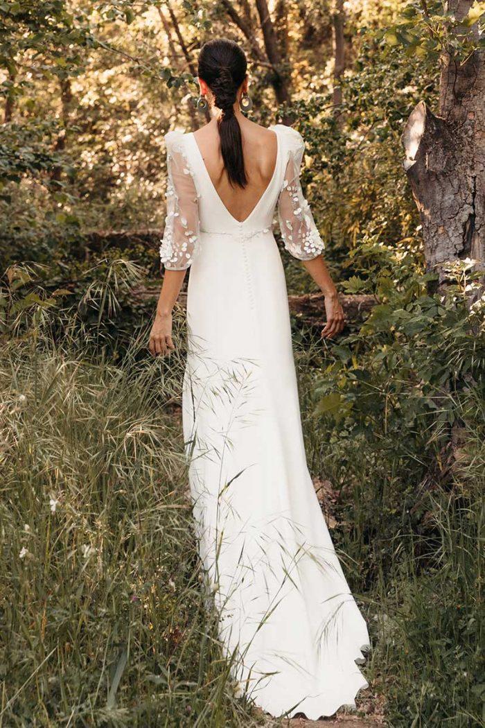 Vestido Novia Silvia Fernandez Modelo Delia 1
