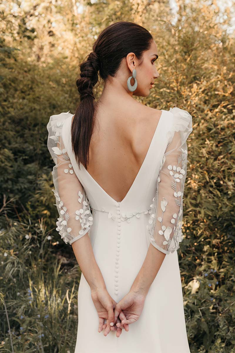 Vestido Novia Silvia Fernandez Modelo Delia