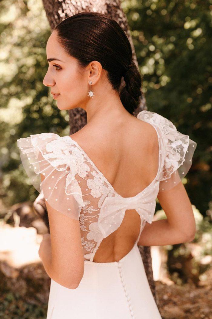 Vestido Novia Silvia Fernandez Modelo Duarte 1
