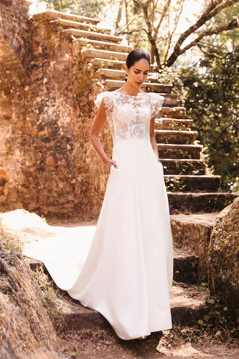 Vestido Novia Silvia Fernandez Modelo Duarte 3