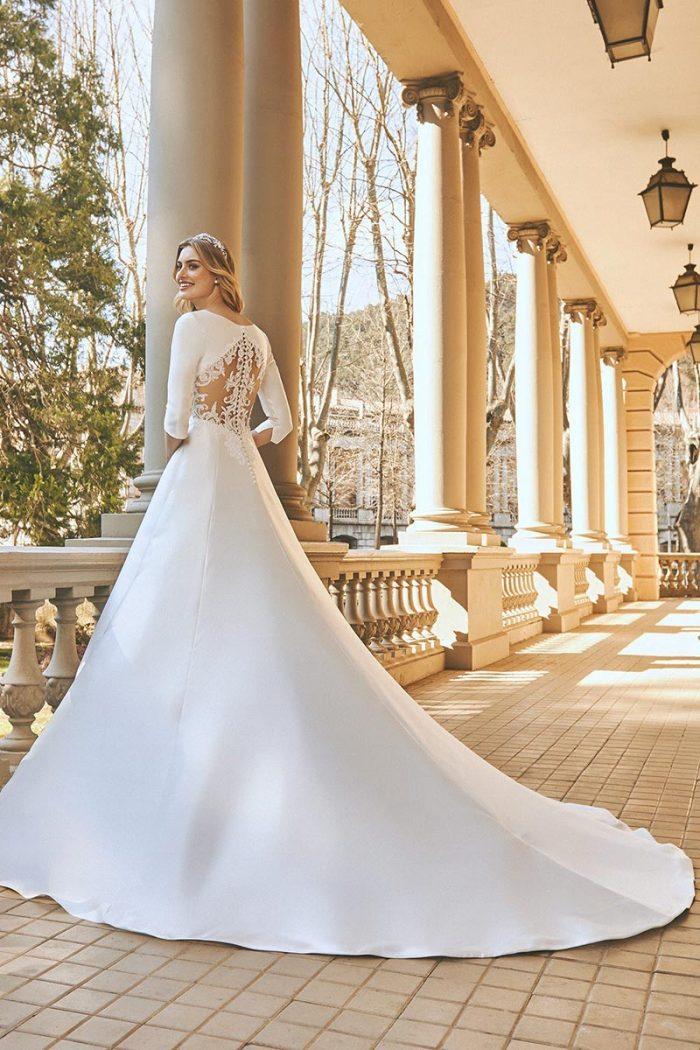Vestido Novia San Patrick Modelo Clandon c
