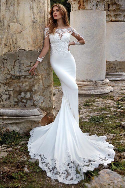 vestido novia nicole modelo DEKLA B