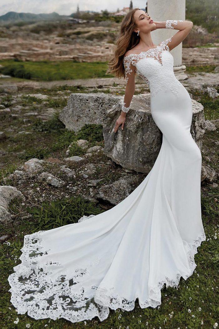 vestido novia nicole modelo DEKLA K