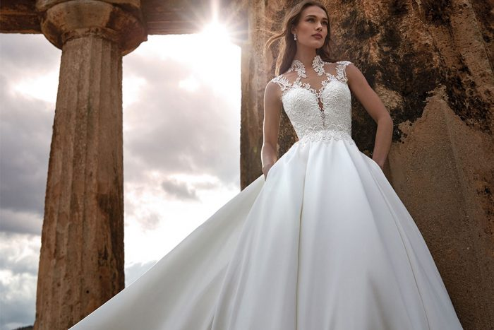 vestido novia nicole modelo MAAT A