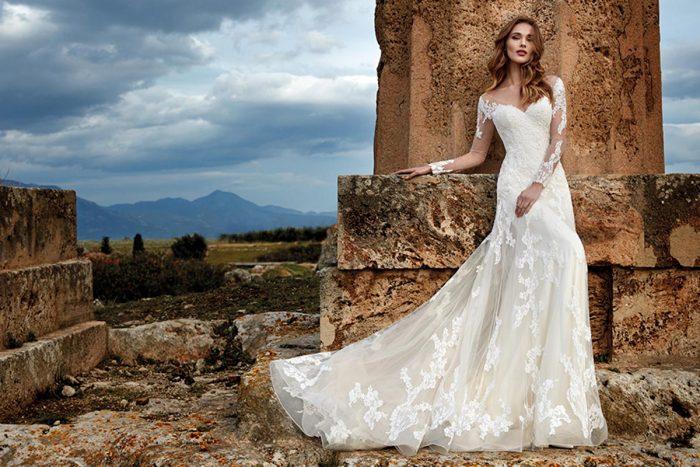 vestido novia nicole modelo NEFTI A